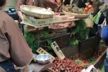 Roasted chestnuts, Kyotanba