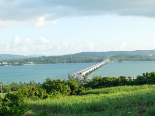 Kouri bridge from afar