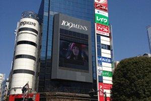 Shibuya 109 Men ห้างสรรพสินค้าสำหรับคุณผู้ชายบริเวณทางข้ามแยกชิบูย่า