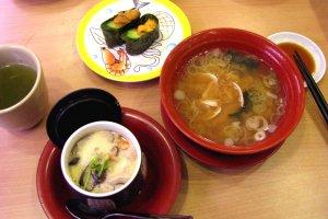 Tôi rất thích các món ăn ở Nagano
