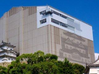 El castillo Himeji estará bajo construcción todo 2014