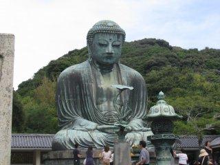 Admiring the Great Buddha