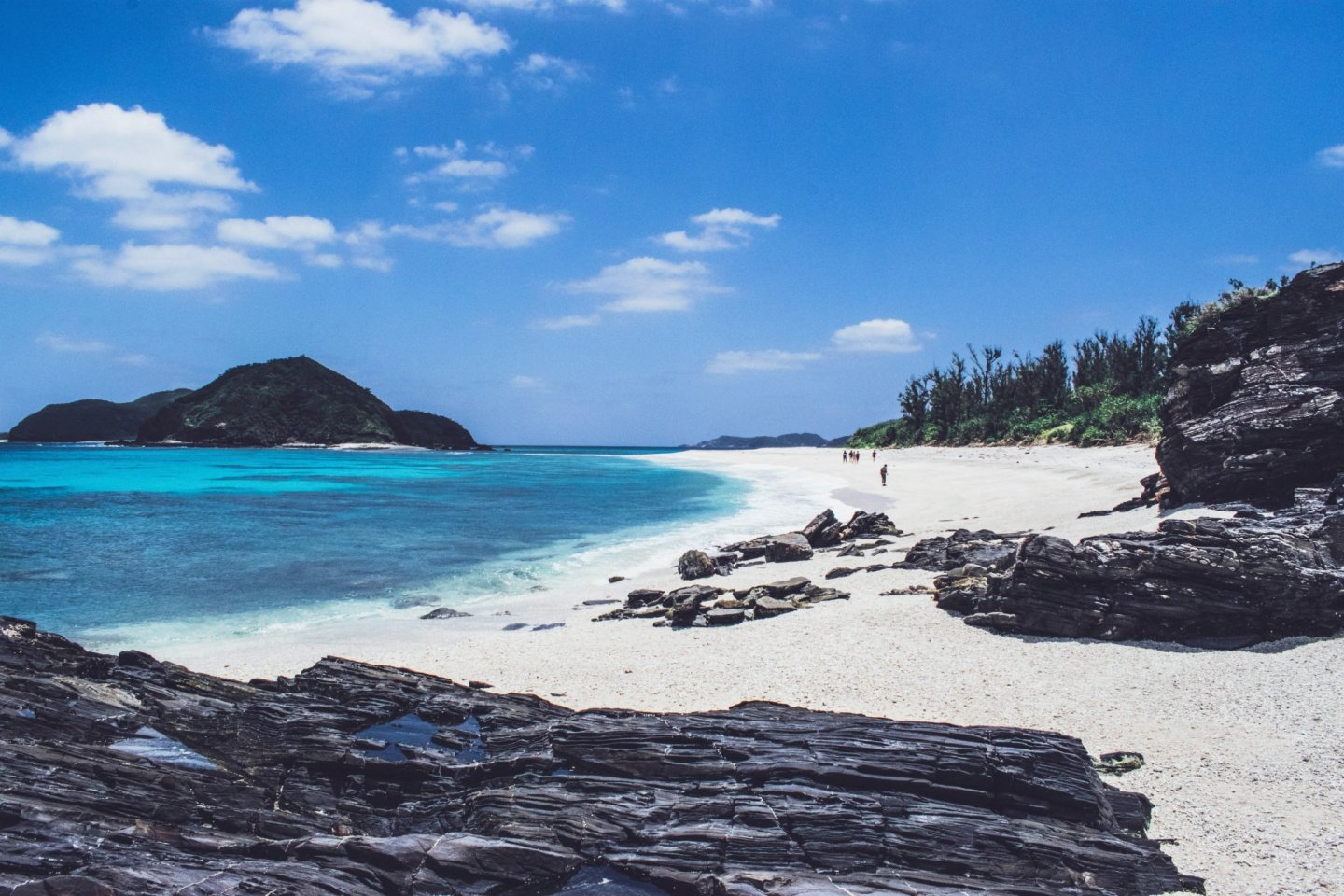 Southern Cross is located in the Kerama Islands, a short ferry ride from Naha