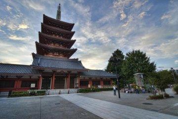 센소지사 5층 석탑