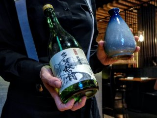 Temperature: warming in a tokkuri flask can enhance sweetness and crispness