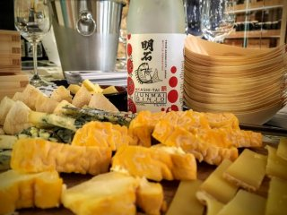 Pairing sake with different kinds of cheese