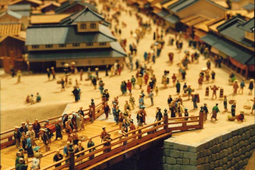Diorama of Nihonbashi