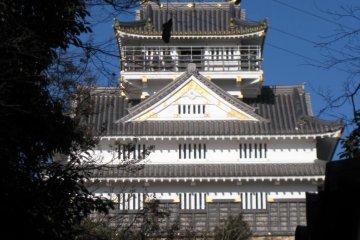 Thành cổ Gifu, Công viên và Cáp treo
