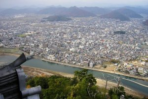 Gifu City from the top