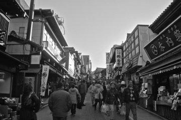 <p>Торговая улица Омотесандо в Наритасан.</p>