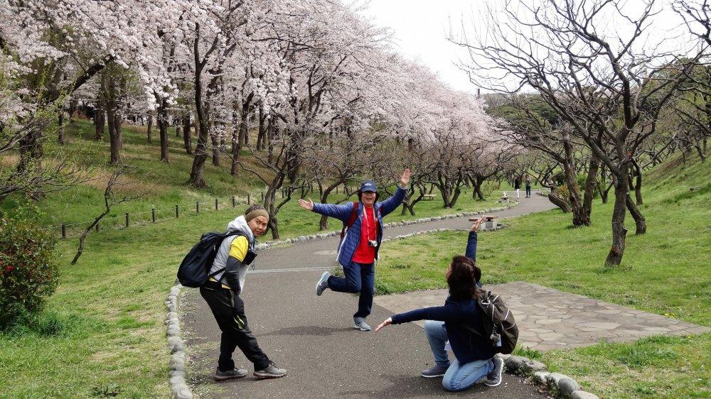 รักเธอจริงหนอสวนป่าเนะกิชิ (Negishi Forest Park)