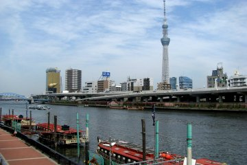 The Sumida Embankment