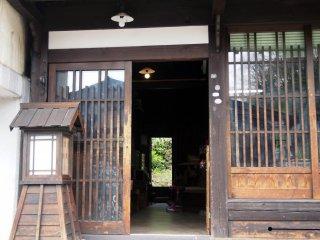 Une boutique à Uenodan