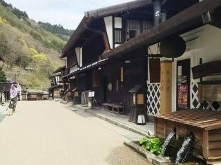 อุเอะโนะดันที่เมืองโพสทาวน์คิโซะ-ฟุคุชิมะบนถนนนะคะเซนโดะ