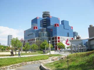 Здание телевидения Kansai TV