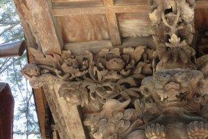 Fascinating wood carving