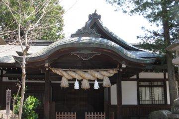 Одно из зданий храма