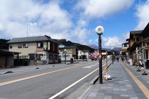 ถนนหลักกลางเมืองนิกโกะ