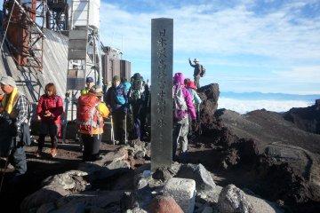 Finally! Japan's highest mountain