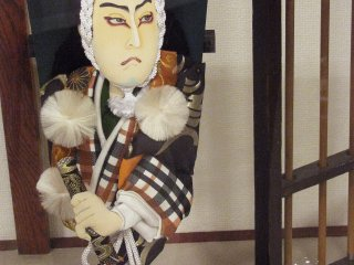 Oshie Hagoita are usually of kabuki actors
