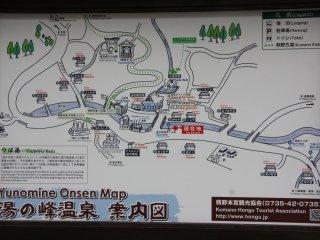 La carte du village