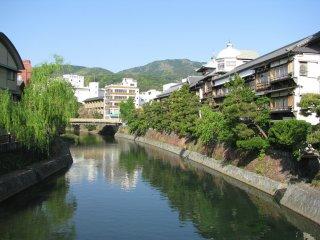 The view to Matsukawa River