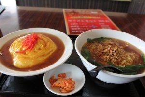 台灣拉麵及天心飯在昇龍台灣料理店
