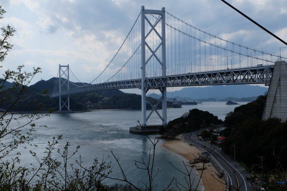 สะพานอิโนชิม่า ยาว 1,270 เมตร
