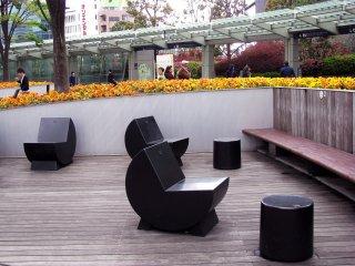 Rest zone with modern design