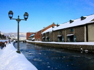 Otaru's beautiful Victorian-style canal is a fantastic place to feel the essence of the town