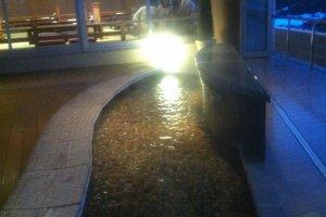 Một bồn rửa chân dưới ánh sao