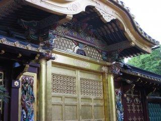 Vẻ đẹp của ngôi đền đã được trùng tu