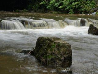 Backwater at Nunobiki Falls
