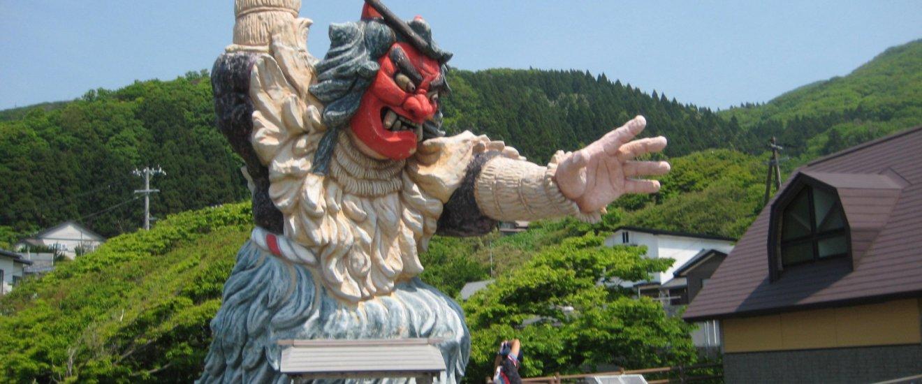 Namahage at Monzen