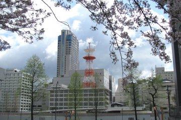 Современные здания Хиросимы