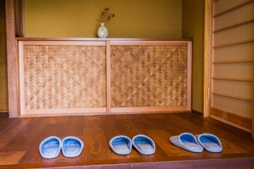 Step up into the house Japanese-style