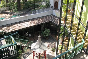 Inner yard of the museum