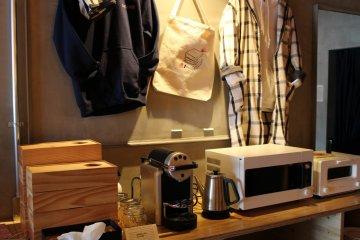 Merchandise and kitchen appliances
