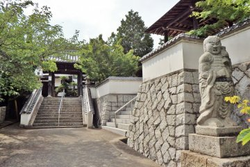 Konrenji Temple is well kept