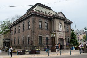 The Otaru Music Box Museum main building, which originally acted as an office for the rice and grain trade.