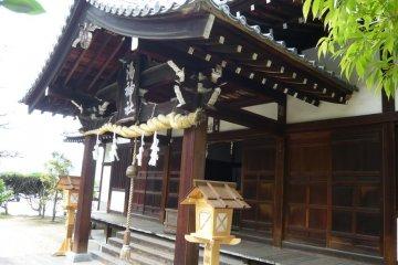Yu Jinja Shrine in Dogo