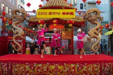 เทศกาลตรุษจีนที่โกเบ
