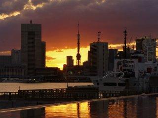 Hidden gem Harumi Passenger Ship Terminal offers some stunning views of Tokyo Bay