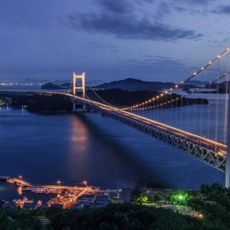 The Great Seto Ohashi Bridge