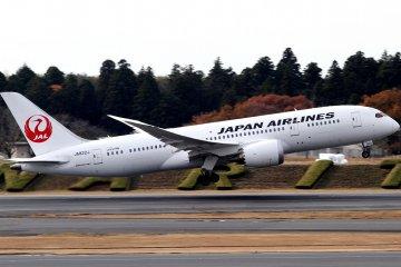 Melbourne ke Tokyo dengan JAL