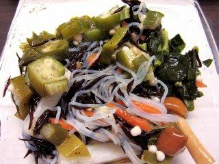 Оригинальный салат с овощами