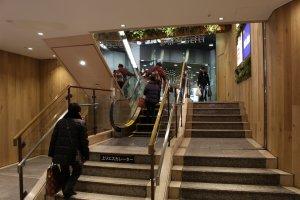 World's Shortest Escalator