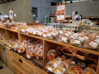 Fresh and delicious breads made by local bakers