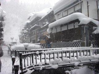 银山温泉一年四季都值得游览