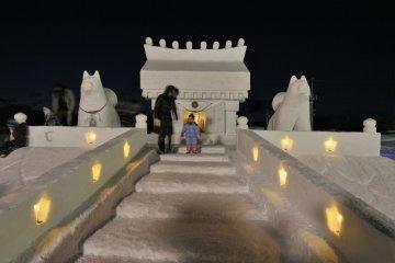 Inukko Festival lights